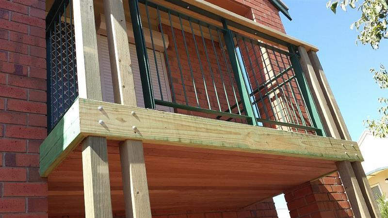 Balcony complete replacement